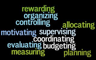 Management tasks