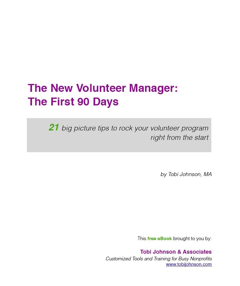 New Volunteer Manager eBook Grab